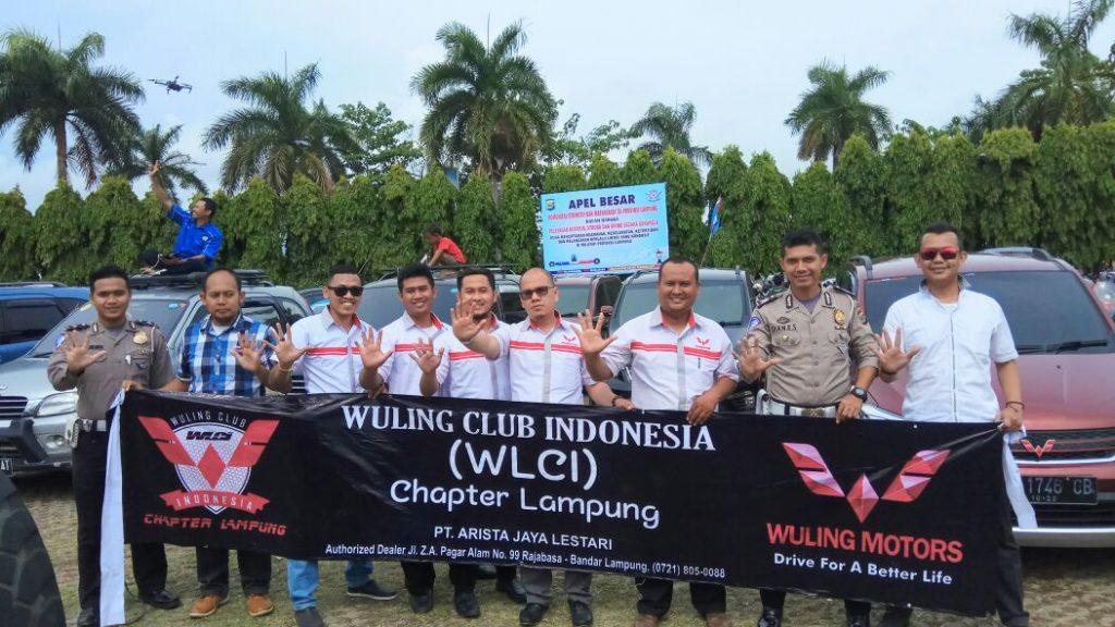 Tim WuLing CLUB Indonesia Chapter Lampung Hadiri Apel Besar Komunitas R2 dan R4 se-Provinsi Lampung