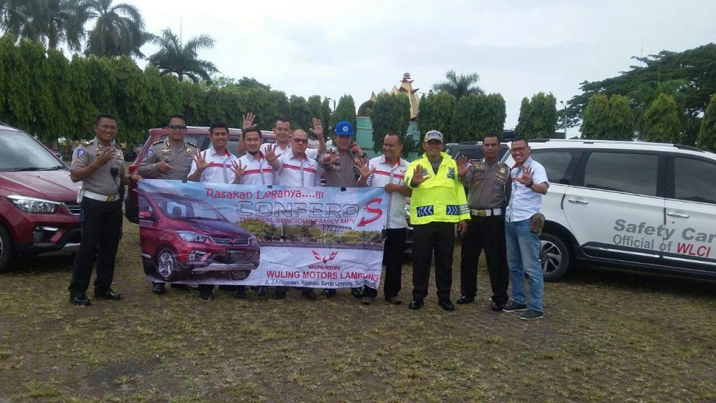 WuLing CLUB Indonesia Chapter Lampung Hadiri Apel Besar Komunitas R2 dan R4 se-Provinsi Lampung